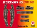 Fleischmann 6190 - HO Scale  Profi Track Track Pack B (Stations Set)